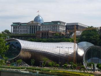 Pałac prezydencki w Tbilisi