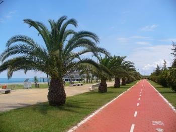 Promenada nadmorska w Batumi
