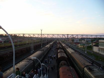 Dworzec w Świrze, Rosja