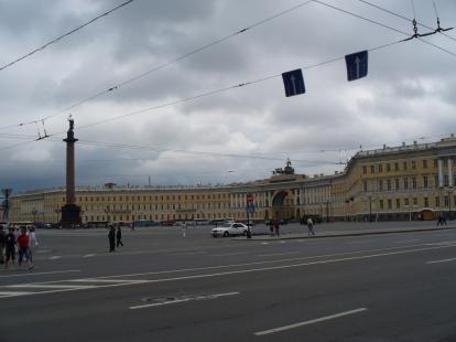 Plac Dworcowy w Petersburgu