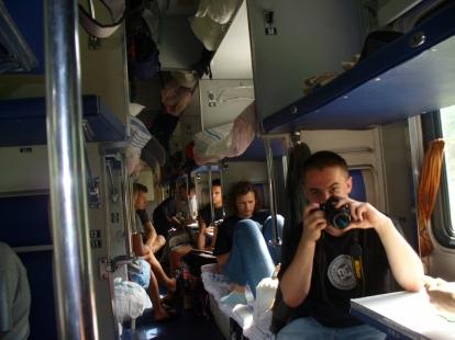 W pociągu Petersburg - Murmańsk