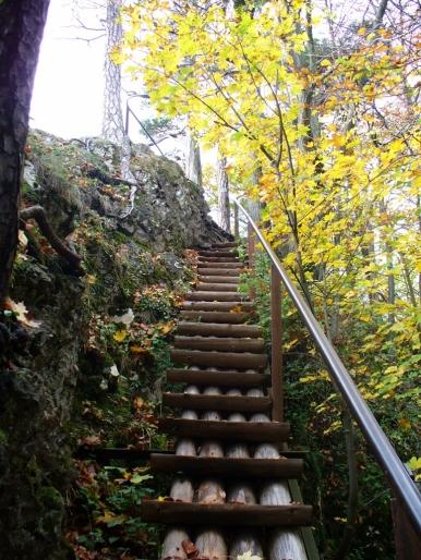 Na szlaku z Sokolicy na Czertezik - jesień