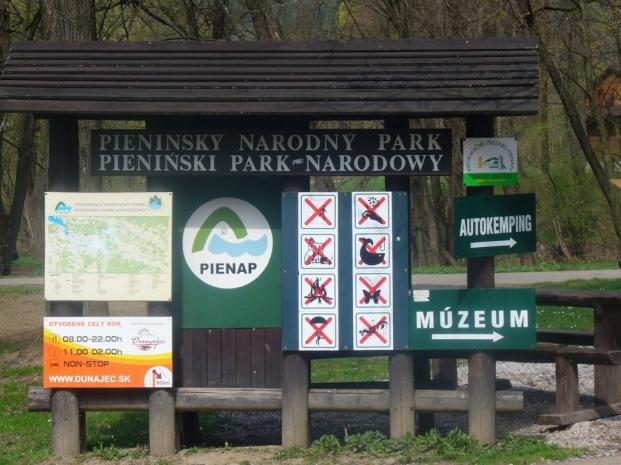 Pieniński Park Narodowy po słowackiej stronie - wiosna