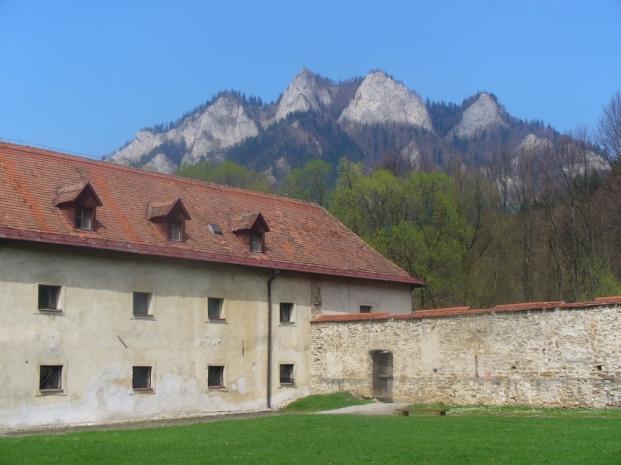 Czerwony Klasztor i Trzy Korony - wiosna