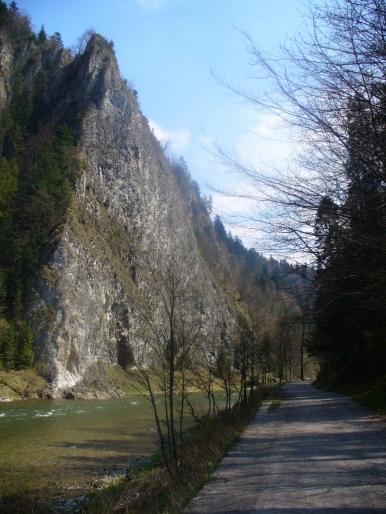 Droga Pienińska i Dunajec - wiosna