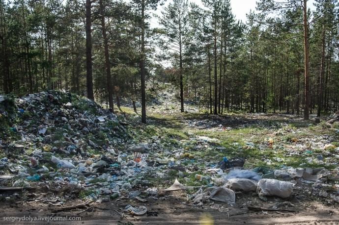 Śmieci, śmieci i jeszcze raz śmieci...