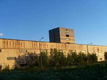 Fabryka w Apatytach, a raczej to co z niej zostało