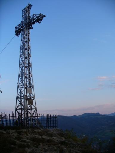 Krzyż na Bryjarce, zdjęcie wykonano 30 IX 2008