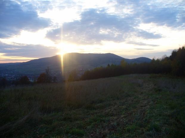 Zachód słońca nad Zembalową