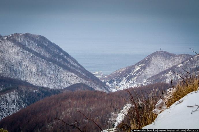 Sachalińskie góry i Morze Japońskie