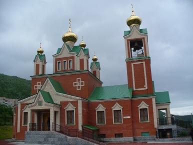 Cerkiew w Kirowsku
