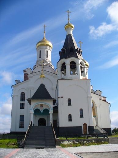 Cerkiew w Monczegorsku