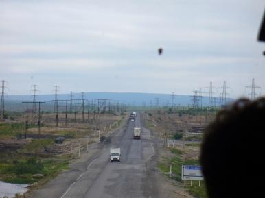 Droga Apatyty - Murmańsk