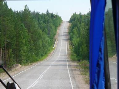 Droga Kandałaksza - Umba