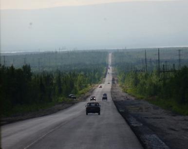Droga Olenogorsk - Apatyty