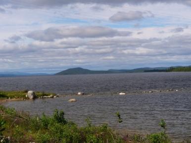 Jezioro Imandra - tym razem w okolicy Polarnych Zor