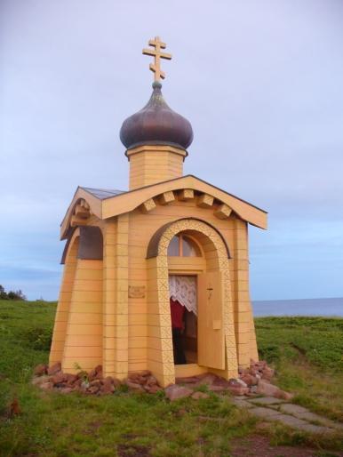Kapliczka nad Morzem Białym