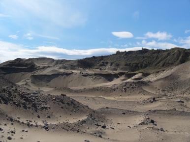 Prawie pustynia koło Monczegorska