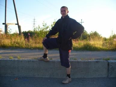 Rosyjski środek ochrony pieszych przed wariatami drogowymi.
