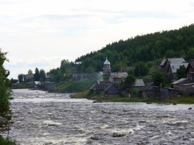 Rzeka Umba w...Umbie