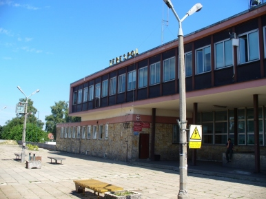 Dworzec kolejowy w Terespolu