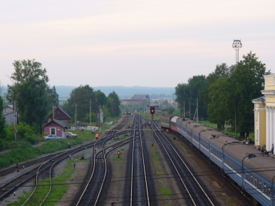 Dworzec w Nowosokolnikach