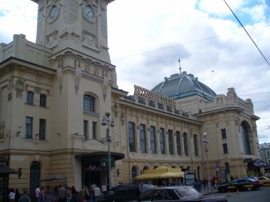 Dworzec Witebski w Petersburgu