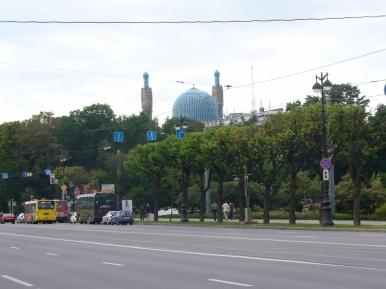 Meczet w Petersburgu