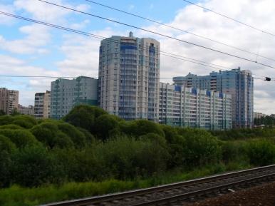 Odjeżdżając z Petersburga