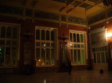 Tu nocowaliśmy w Petersburgu