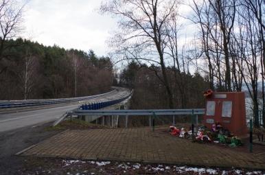 Pomnik ofiar katastrofy autobusowej w Wilczym Jarze