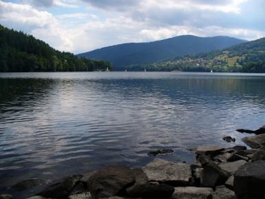 Jezioro Międzybrodzkie w Porąbce - miejsce na piknik