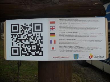 Kod QR - zagospodarowanie turystyczne gminy Lipnica Murowana