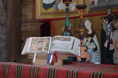 Wiekowy mszał w kościele św. Leonarda w Lipnicy Murowanej