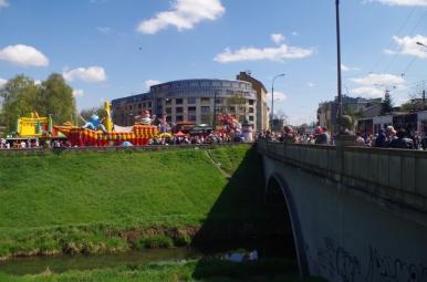 Odpust Emaus - widoczna rzeka Rudawa