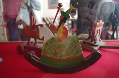 Konik - zabawka w Domie Zwierzynieckim