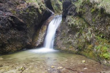 Dolné Diery - jeden z wodospadów