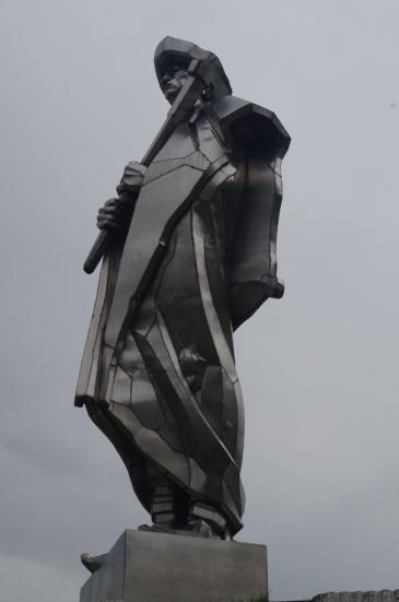 Jánošíkova socha, czyli po prostu pomnik Jánošíka w Terchowej