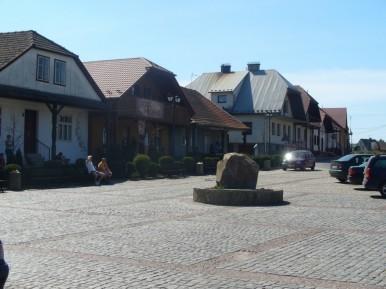 Rynek w Lipnicy Murowanej w zwykły dzień