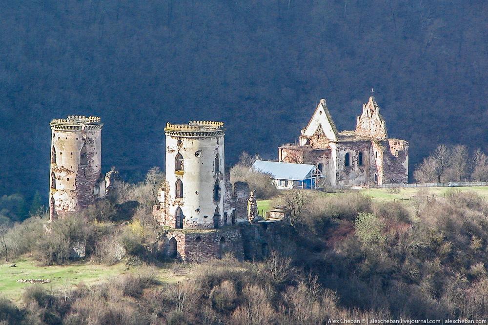 Znalezione obrazy dla zapytania zamek Czerwonogród ukraina
