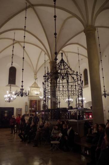 Stara Synagoga - bima