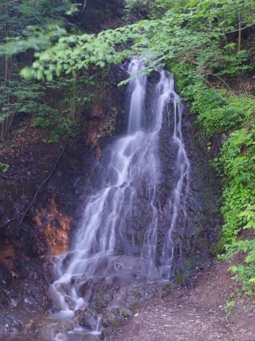Wodospad w Rudawce Rymanowskiej