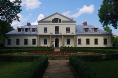Dawny dwór w Rymanowie