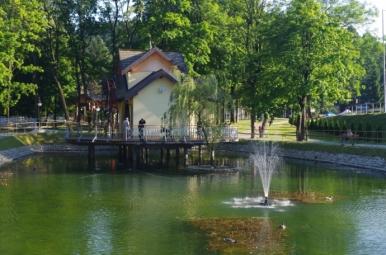 Park Zdrojowy w Rymanowie-Zdroju