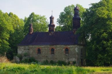 Ruiny cerkwi w Króliku Wołoskim