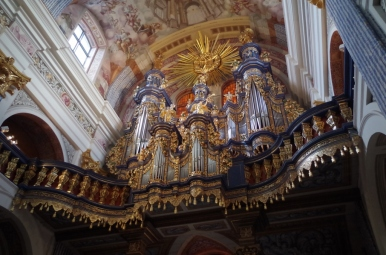 Organy w sanktuarium w Świętej Lipce