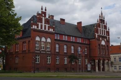 Budynek starostwa powiatowego w Kętrzynie