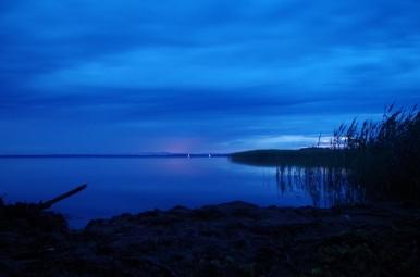 Jezioro Śniardwy w pobliżu Niedźwiedziego Rogu