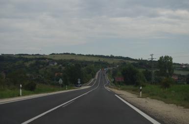 Gdzieś między Vacem, a Budapesztem.