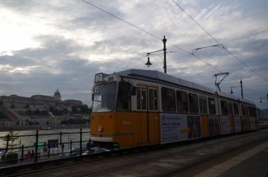 Budapesztański tramwaj